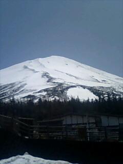 富士山五合目から